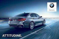 Migliorarsi sempre è una questione di attitudine. Nuova BMW Serie 5.