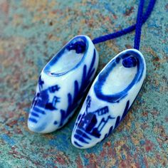 ceramic shoes... Dutch souvenir from an estate by CoolVintage, $13.50