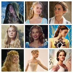 """The New Disney Live Action Princesses"" Disney Live, Disney Nerd, Cute Disney, Disney Girls, Disney Magic, Disney Movies, Disney And Dreamworks, Disney Pixar, Walt Disney"