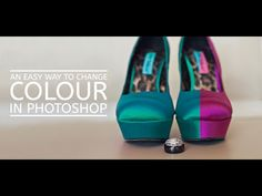 An Easy Way To Change Colour In Photoshop » Floating Lights Photography | Castlegar, BC, Photographer