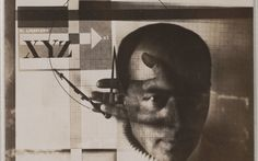 El Lissitzky. *Self-Portrait.* 1924. Gelatin silver print, 3 × 3 3/8″ (7.6 × 8.5 cm). The Museum of Modern Art, New York. Thomas Walther Collection. Purchase. © 2011 Artists Rights Society (ARS), New York/VG Bild-Kunst, Bonn