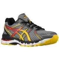 Asics Asics Men's Gel-Kayano 19 Running Shoe (10.5 D(M) Us, Charcoal/Sunburst/Fl)