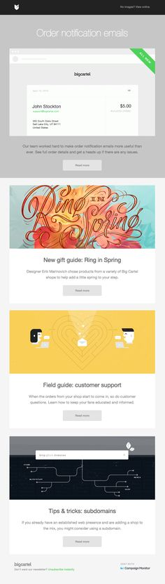 Better-notification-emails. A Curated Showcase of the Best Email Designs: Really Good Emails