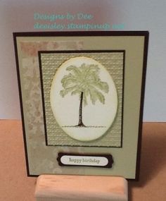 Masculine Birthday Designs By Dee Isley Deeisleystampinup Flipflops Deeyahoo Custom Designed Cards