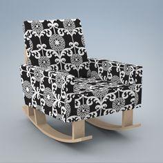 Duc Duc   Product   eddy rocker Baby Nursery Furniture, Nursery Decor, Modern Childrens Furniture, Rocking Chair, Hardwood, Armchair, Decor Ideas, House Design, Babies