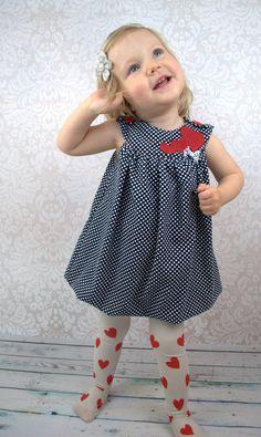 Nähanleitung und Schnittmuster Ballonkleid Mariechen - Schnittmuster und Nähanleitungen bei Makerist