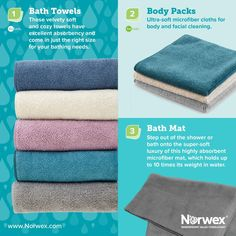 Norwex Bath Towels Classy Spring Colors For Norwex Bathroom Microfiber Body Packs Hand Decorating Design