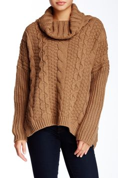 Allison Collection | Cable Knit Sweater | Nordstrom Rack  Sponsored by Nordstrom Rack.