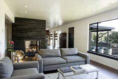 I want a double sided fireplace, it's enjoyable from two rooms at the same time.