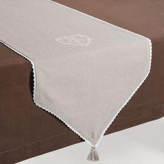 chemin de table on pinterest burlap table runners table. Black Bedroom Furniture Sets. Home Design Ideas
