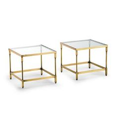 Pierce Nesting End Tables, Set of Two
