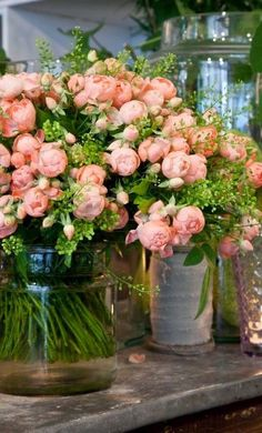 1lifeinspired:Pink Peony Bouquet