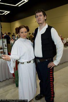 Princess Leia Organa and Han Solo, Sakura-Con 2013 - Saturday - Cosplay Photos from David DTJAAAAM Ngo