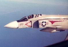 "classicnavalair: ""@ClassicNavalAir VF-31 ""Tomcatters"" F-4J from SARATOGA, which deployed together for 34 yrs. Photo ca.1979. #PhantomFriday https://t.co/bGJYFEf4wd """