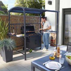 Tonnelle gazebo Coburg pour barbecue - CASTORAMA