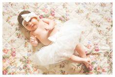 Baby photo shooting.