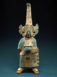 Figura maya del siglo VI,Guatemala