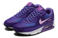 Nike Air Max 90 Women's Shoes Blue Gray 2050