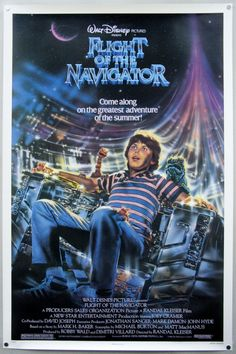 Flight of the Navigator (1986)    In 1978, a boy is moved 8 years into the future and has an adventure with the alien ship that is responsible for that.