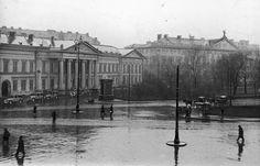 Plac Krasińskich. ;) fot. 1933 r., źr. Narodowe Archiwum Cyfrowe.