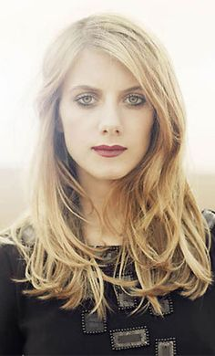Mélanie Laurent, actress. Of Jewish decent- Ashkenaz (Polish) and Sephardic (Tunisian). Awesome in Inglorious Basterds.