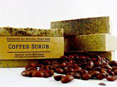 Coffee Scrub Soap  Exfoliating soap Soap All by PrairieLoops