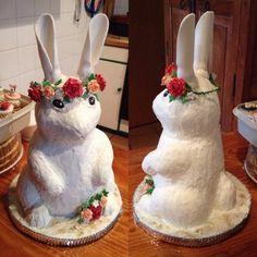My bestie's bunny cake