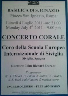 Concierto en Roma