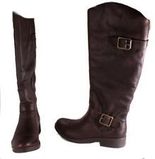 Lucky Brand Fanni Womens Tuscany Bridle Leather Western Style Boots Size 6 Med.