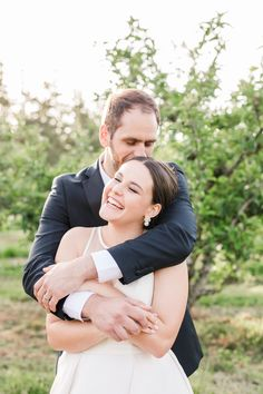 A joyful St Leonards & North Head wedding, including orchard bridal portraits. Anna, November 2019, Bridal Portraits, Joyful, Peony, Bride Groom, Wedding Photography, Weddings, Couple Photos