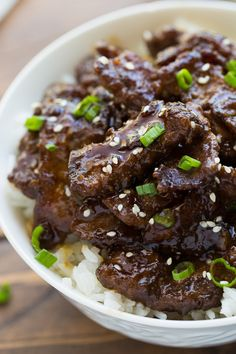 30-minute Beef Teriyaki! Easy, flavorful and made with ingredients you already…