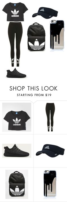 """Adidas"" by mynameisyaya ❤ liked on Polyvore featuring adidas and Topshop"