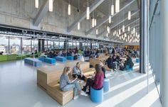 Interieur BRUG restaurant voor de UvA door PUUR interieurarchitecten - alle projecten - projecten - de Architect
