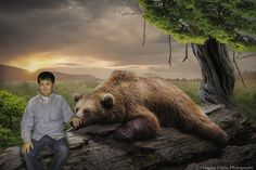 Adventures of Rian: Don't Poke the Sleeping Bear