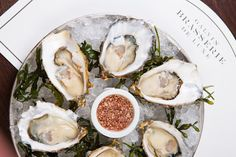 Scottish fare isn't the only cuisine Edinburgh does well, and this brasserie… Nyc Restaurants, Romantic Restaurants, Oyster Recipes, Raw Bars, Paleo, Balanced Meals, Food Inspiration, Seafood, Food Photography
