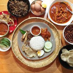 Malay dish Nasi lemak