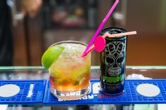 Afterinha #cocktail #recipe - Hype Energy offices in Puerto Banús, Marbella. #Caipirinha with #gin + AfterDark #Cocktails http://hype.com/cocktails/