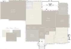 Sherwin Williams Colonnade Gray , Repose Gray, and Alabaster-- favoring this color scheme for our new house!
