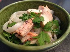 Rice Noodles with Chicken & Lime