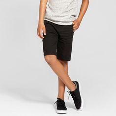 Boys' Chino Shorts - Art Class Black 12