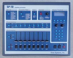 EMU Turbo - Classic Drum Machine/ Sampler - Pro-Serviced w/Restoration Vintage Drums, Vintage Records, 80s Hip Hop, Dj Gear, Drum Machine, All About Music, Sound Design, Rap Music, Electronic Music