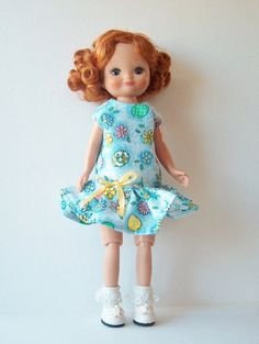 Doll Clothes Dress for Tiny Betsy McCall and Ann by GrandmasBliss
