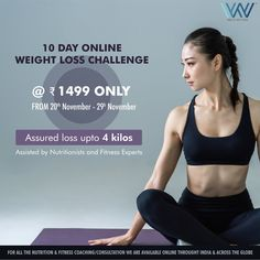 Don't let your weight rebound! Regaining lost weight is disheartening. Now, lose weight and keep it off with challenge and experience a whole new level of wow :) New batch from the of November. WhatsApp us at 88844 33133 to register. Worlds Of Wow, Lost Weight, Weight Loss Challenge, Rebounding, Fitness Nutrition, 10 Days, November, Challenges, How To Plan