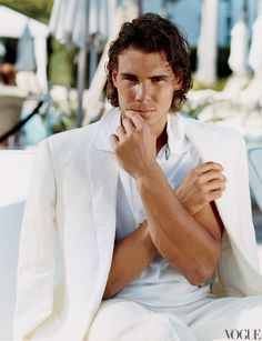 Rafael Nadal- June 2009- Bruce Weber photograph