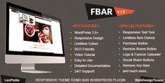 FBar v1.5 - Responsive WordPress Demo Switch Bar Plugin