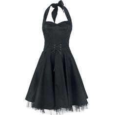 Halter Dress - Robe mi-longue par Black Premium by EMP