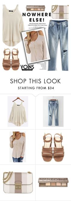 """""""Yoins"""" by helenevlacho ❤ liked on Polyvore featuring MICHAEL Michael Kors, Urban Decay, yoins, yoinscollection and loveyoins"""