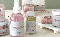 DIY Ideas Hair & Beauty : Start your own range of bath products