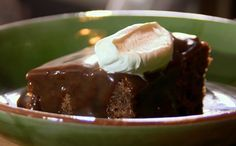 The Hairy Bikers sticky toffee pudding with toffee sauce