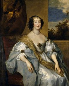 Lady Dorothy Percy (1598–1659), Countess of Leicester Anthony van Dyck, at Petworth House, England
